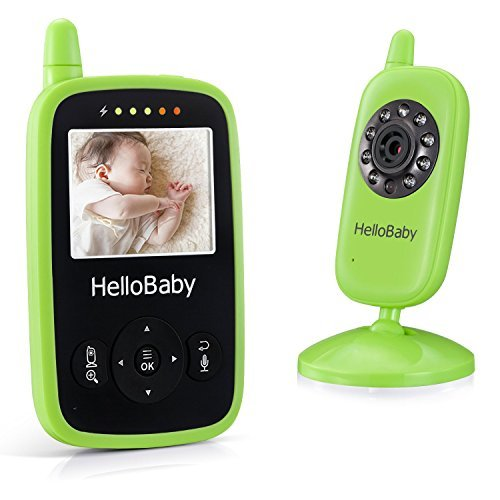 Portable Video Baby Monitor Night Vision Smart Camera with Temperature...
