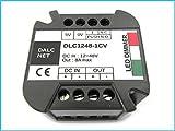 Dalcnet Easy Led Fader Dimmer Driver DC 12V-48V CV Con Pulsante N.O. Normalmente Aperto DLC1248-1CV
