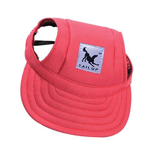 perfk Hunde Baseball Hundehut Katzen Hut Haustier Sonnenschutz Hut mit Ohr-Löchern - #17, S