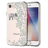 EGGPRO Coque iPhone 7, Coque iPhone 8, Clarté Transparent Souple Doux TPU Silicone...