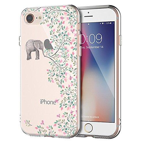 EGGPRO Funda iPhone 7, Funda iPhone 8, Suave Claridad Transparente Anti-Choques TPU...