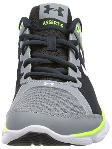 Under Armour Ua Micro G Assert 6, Chaussures de Course Homme Gris - Grey (Steel)