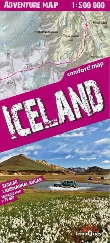 Iceland 1 : 500 000 Adventure Map