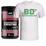 Best Creatine Pills - BodyDaddyMake (BDM) Creatine Monohydrate Capsules - 200 + Review