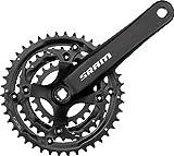 Sram S600 Chainset 3 x 8 Speed Squaretaper 42-32-22T - 175 mm, Blast Black