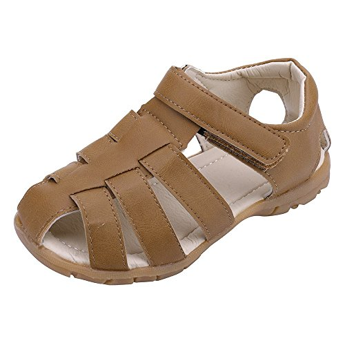PLOT Children Kids Boy Girls Closed Toe Summer Beach Sandals Shoes Sneakers 3-6 T