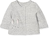 Mothercare Girl's Bunny Jacket, Grey, 3-6 Months