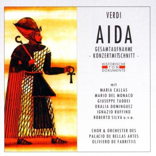 Preisvergleich Produktbild Verdi: Aida (Gesamtaufnahme) (ital.) (Konzertmitschnitt Mexiko City 1951)