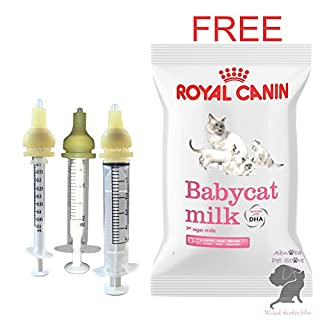 Nursers Premade Modified Nipple FREE Royal Canin Babycat Milk Kitten Whelping