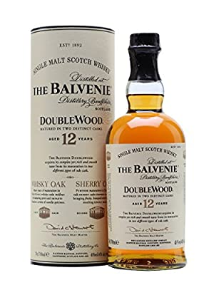 The Balvenie 12 Year Old Double Wood Single Malt Scotch Whisky 20cl Bottle