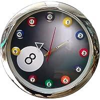 Clock Buffalo Pool 8 Balls