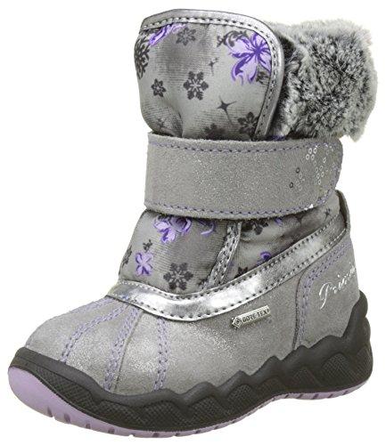 PRIMIGI Baby Mädchen PMAGT 8559 Klassische Stiefel, Grau GRIG-Lilla, 25 EU -