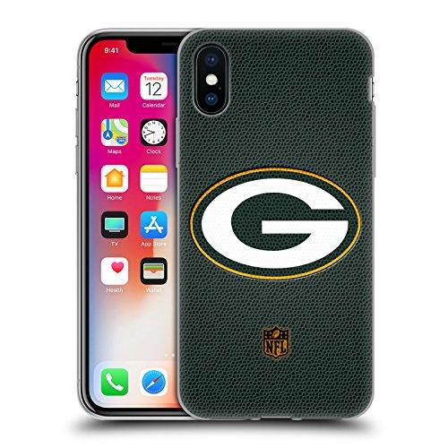 Head Case Designs Offizielle NFL Fussball Green Bay Packers Logo Soft Gel Huelle kompatibel mit iPhone X/iPhone XS