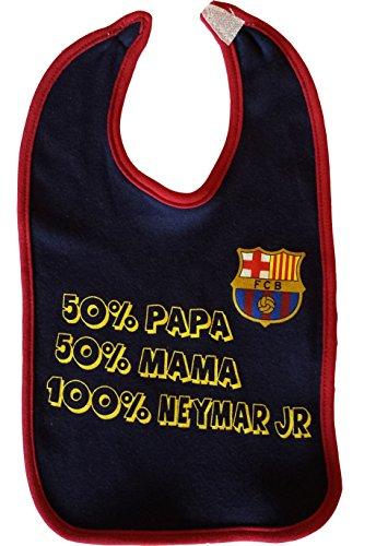 Barça Lätzchen für Babys mit Motto Neymar Jr, offizielle Kollektion von FC Barcelona