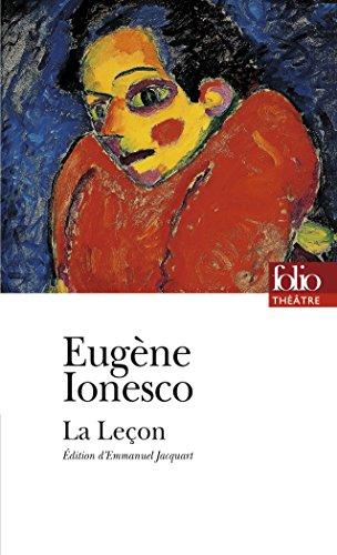 La Leçon par Eugène Ionesco