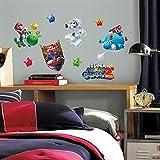 Bavaria Home Style Collection Hochwertiger Wandtattoo Tattoo Wand Tattoo Super Mario Galaxy 2 künstlerisch mit außergewöhnlichem Design Macht die Wand zu einen echten Blickfang