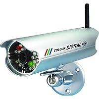 Elro C950CD - Cámara de vigilancia de tipo bala (inalámbrica, 640x480 pixeles, 2.4