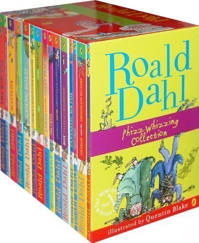 Roald Dahl 15 Book Box Set (Slipcase) Includes Matilda, Witches, The Twits, Fantastic Mr Fox, Charlie & the Chocolate Factory, Georges Marvellous Medicine, The BFG, Danny the Champion of the World.... by Dahl, Roald on 01/03/2010 unknown edition
