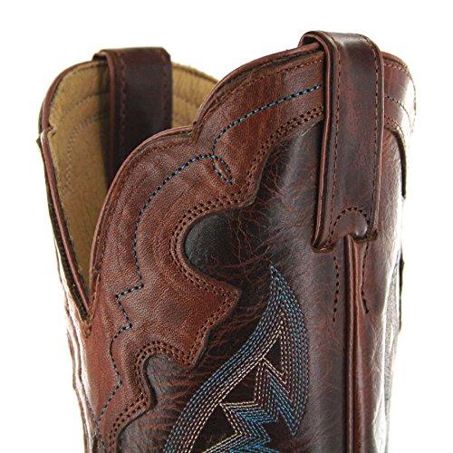 Justin Boots L4331 C Saddle Torino/Damen Westernreitstiefel Braun/Damenstiefel/Reitstiefel/Western Riding Boots Tan Damian