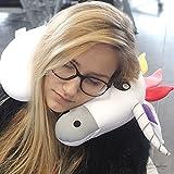 Unicorno cervicale–Cuscino per il collo cuscino da viaggio resto del collo
