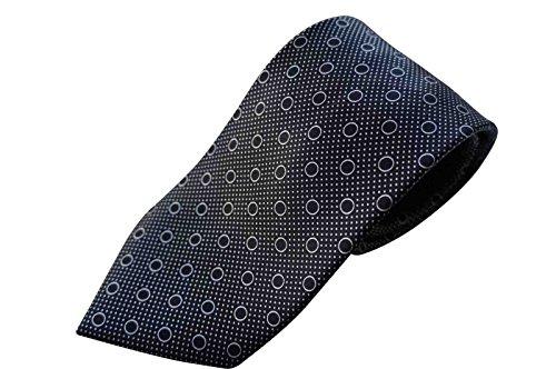 brioni-cravatta-100-realizzato-a-mano-in-italia-luxuy-in-seta-colore-nero-marrone-motivo-cerchi