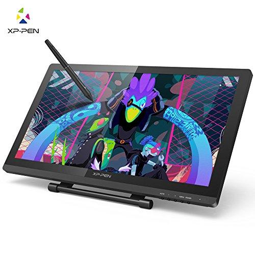 XP-PEN Artist22PRO Tablette Graphique avec Écran à Deux Stylets Rechargeable avec Support Adjustable pour Droitier & Gaucher