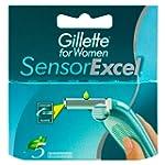 Gillette Sensor Excel For Women Refil...