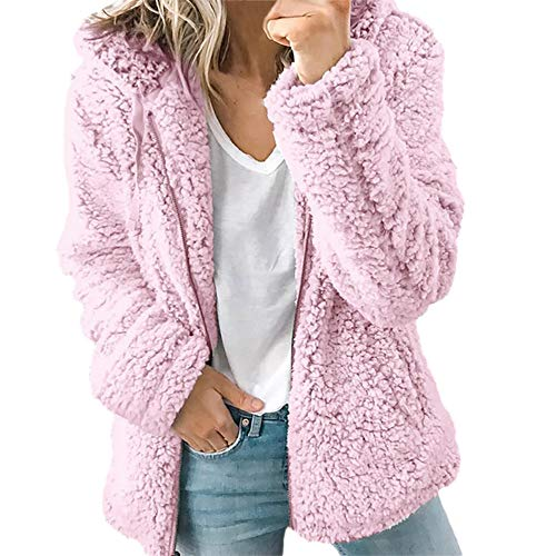 Abrigo Invierno Mujer Chaqueta Cálido Suéter Jersey Mujer Cardigan Mujer  Tallas Grandes Outwear Floral Bolsillos con 5a28a34c6b7ae