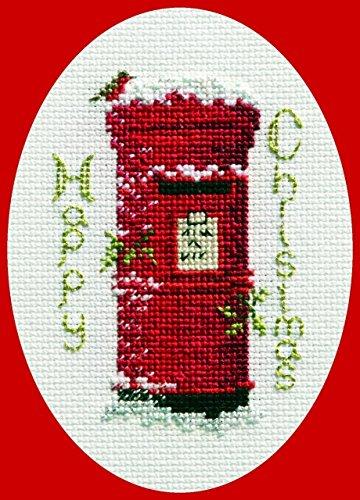 Christmas Post Card, Kreuzstich (No Count Cross Stitch Kits)