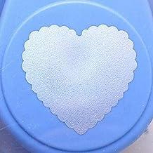 Artemio Corazón Grande DE 2,5cm para Perforadora número 4, Color Naranja