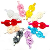 #3: Tomtopp 1pc Baby Toddler Le Flower Headband Hair Band Accessories Headwear(Random Color)