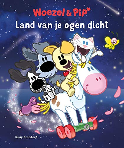 Het land van je ogen dicht (Woezel & Pip) (Dutch Edition)