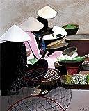 1art1 46047 Asiatisches - Markt In Vietnam Von Anne Du