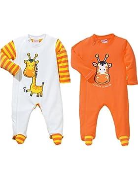 Baby Butt Schlafanzug 2er-Pack mit Druckmotiv Interlock-Jersey