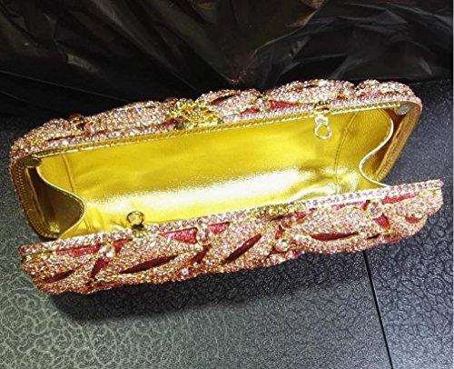 Dinner-Paket Europa und den Vereinigten Staaten Stil aristokratischen Tasche Handtasche Lippen Diamantbohrer 4 Farb color 3