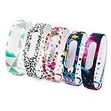 Fit-power Ersatz-Bänder für Xiaomi Mi Band 2Smart-Armband (nicht für Xiao Mi Band 1S), Pack of 5A