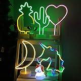 LED Nacht Licht Nacht Tisch Lampe Neonschild ...Vergleich