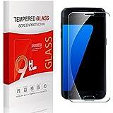 Utmury Protector de Pantalla Para Samsung Galaxy S7 Ultra-trasparente Premium Protector Samsung Galaxy S7 Vidrio Templado Cristal Protector Dureza de Grado 9H.