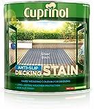 Cuprinol UTDSSB25L Anti Slip Decking Stain Silver Birch 2.5 Litre