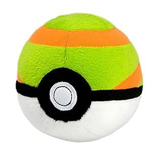Pokèmon t19359–Tomy Nest pelota de peluche, manta juguete para niños a partir de 3años