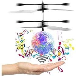RC Bola Voladora ,Niños voladora Juguetes ,Drone HelicóPtero Bola de vuelo Built-in Shinning Iluminación LED para Niños RC Mini flying ball - RC Juguete para niños , adolescentes -- VENAS