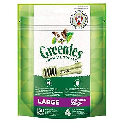 Greenies Grain Free Petite Daily Dog Dental Treats, 10 Chews Made for Dog Sizes 8-11 kg