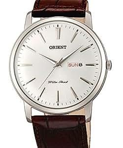 Orient UG1R003W–Wristwatch men's, Leather Strap Brown