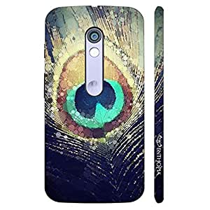 Enthopia Designer Hardshell Case Peacock Heaven Back Cover for Motorola Moto X Play