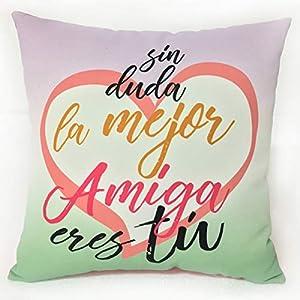 Artemodel-sin Duda Amiga cojín lonet Med, Multicolor (1)