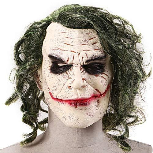 - Erwachsene Grüne Clown Perücke