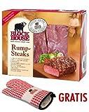 Block House Roastbeef (Rumpsteak) Frischfleisch ca. 1,14 kg inklusive gekühltem Versand innerhalb von ca. 7 Arbeitstagen (da frisch zugeschnitten)