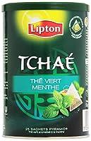 Lipton Tchaé Thé Vert Menthe 25 Sachets 50 g
