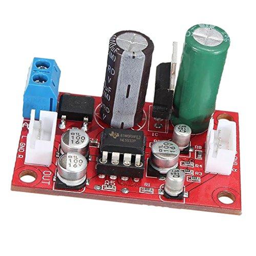 Sharplace Ne5532 DIY Kit Vorverstärker Verstärker Board Dynamisches Mikrofon Amp Preamplifier + Signal Schirm Kabel