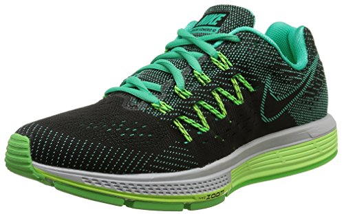 Nike  Air Zoom Vomero 10, Chaussures de course femmes Mental/Black/Ghost Green/Voltage Green